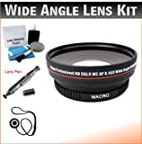 67mm Digital Pro Wide Angle/Macro Lens Bundle For The Sony NEX-3, NEX-5, NEX-6, NEX-C3, NEX-5N, NEX-7, NEX-F3, NEX-VG10, NEX-VG20, NEX-VG30, NEX-FS100, NEX-FS700, NEX-EA50E Digital DSLR Cameras Which Have The Sony E Series (18-200mm) Lens. Includes Wide-Angle/Macro High Definition Lens, Lens Pen Cleaner, Cap Keeper, UP Deluxe Cleaning Kit