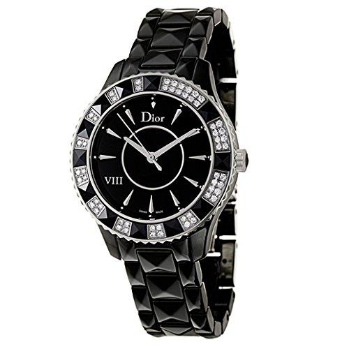 55097d1a4965 Christian Dior Dior VIII CD1231E1 C001 cerámica y diamantes reloj de  cuarzo  Amazon.es  Relojes