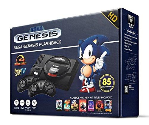 Sega Genesis Flashback HD 2017 Console 85 Games Included (Certified Refurbished)