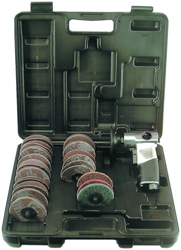 Florida Pneumatic FP-823 3-Inch Surface Preparation Kit - Florida Pneumatic Sander