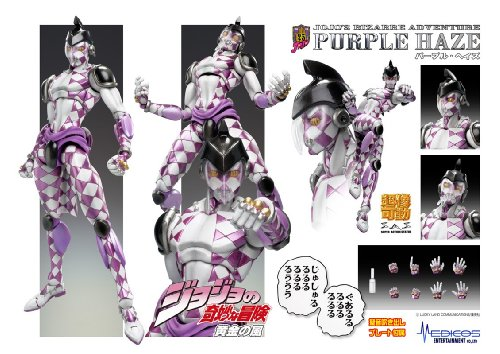Image result for purple haze jojo