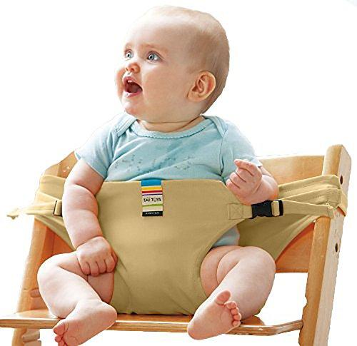 Geniales Baby tragbar Reise Sicherheit Hochstuhl Booster Esszimmerstuhl Gürtel mit Riemen