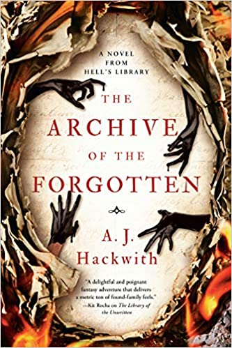 The Archive of the Forgotten Book Cover