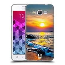 Head Case Designs Colourful Sunset Over The Sea Beautiful Beaches Soft Gel Case for Samsung Galaxy Grand Prime