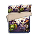 California King Bed Vs King Bed Plants VS. Zombies Bedding Sets - Sport Do Best Gifts for Game Funs 100% Polyester Skinclose Fitted Sheet 3PC Twin