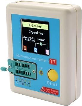 Lcr T7 Transistor Tester Tft Diode Triode Kapazität Tester Esr Tester Npn Pnp Mosfet Ir Multifunktions Tester Multimeter Baumarkt