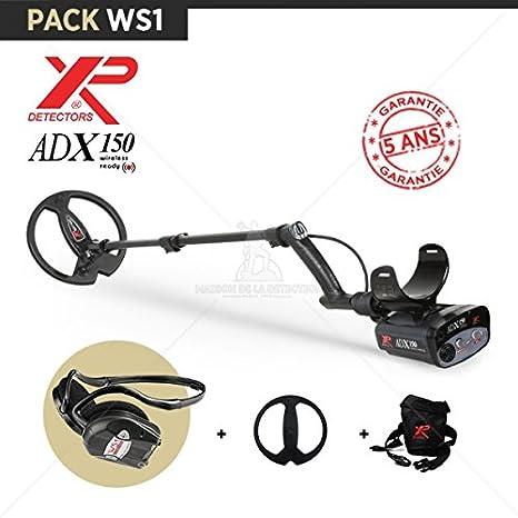 Detector de metales XP ADX 150-Auriculares de diadema inalámbricos WS1: Amazon.es: Jardín