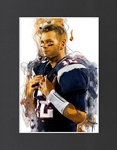 Tom Brady - New England Patriots #1 Exclusive Artwork by