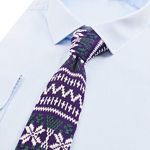 De Tricotée homme Alizeal Bohême style 1 Mince cravate qWXUctf