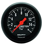 AUTO METER 2654 Z-Series Electric Pyrometer Gauge Kit,2.3125 in.