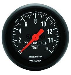 Auto Meter 2654 Z-Series Electric Pyrometer Gauge Kit
