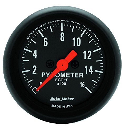 Auto Meter 2654 Z-Series Electric Pyrometer Gauge (Series Pyrometer Kit)