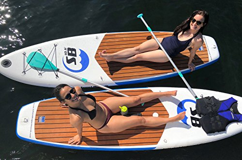 - Inflatable Sport Board AIRBO 10.6' Premium Inflatable Stand Up Paddle Board with ISUP Backpack - Double Action Pump - 3 Piece SUP Paddle