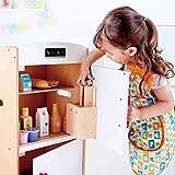 Hape Gourmet Kitchen Wooden Fridge   Cabinet