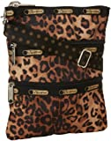 LeSportsac Kasey Cross Body,Cheeta Cat,One Size