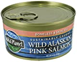 Wild Planet, Salmon Pink Wild, 6 OZ (Pack of 3)