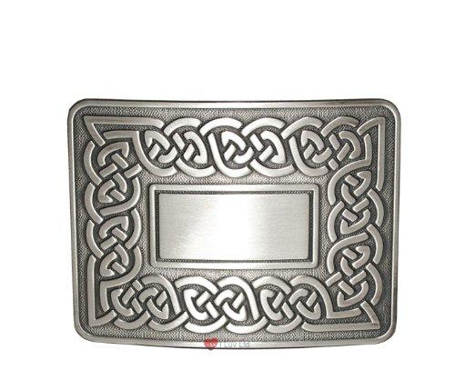 Celtic Link Kilt Belt Buckle Antique I Luv LTD
