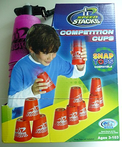 Speed Stacks Competition Cups ~ Metallic Pink (Speed Competition Stacks Cups)