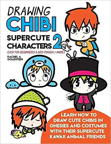 Drawing Chibi Supercute Characters 2 Easy For Beginners Kids