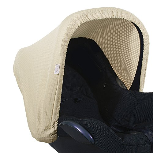 vlokup 100 cotton baby car seat covers for babies breathable infant car seat canopy baby shower. Black Bedroom Furniture Sets. Home Design Ideas
