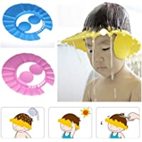 N M Z Safe Shampoo Bath Cap Shower Cap Baby Bath Protect Soft Cap Hat for Baby Kids Kids Shower Cap