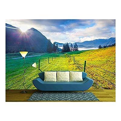 Colorful Summer Morning in the Triglav National Park Slovenia Julian Alps Europe, Premium Creation, Majestic Expert Craftsmanship