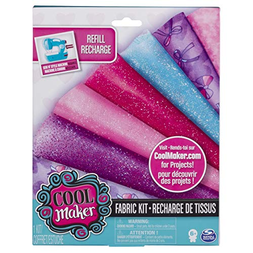 - Cool Maker - Sew N' Style Fabric Kit, for Ages 6 and Up