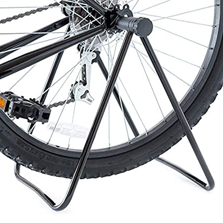 FASTPED  Universal Flexible Bicycle Bike Display Stand for Parking Holder Folding (Black)
