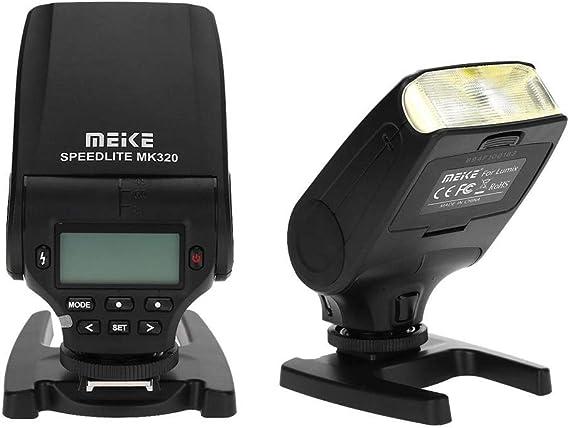 Topiky MK320-P Flash Speedlite para Panasonic Olympus DSLR Cameras ...