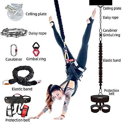 Yoga Inversion Swing, Bungee Cuerda, Flying Bandolera De Hamacas ...