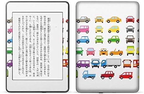 igsticker kindle paperwhite 第4世代 専用スキンシール キンドル ペーパーホワイト タブレット 電子書籍 裏表2枚セット カバー 保護 フィルム ステッカー 016207 車