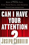 Can I Have Your Attention?, Joseph Cardillo, 1601630638
