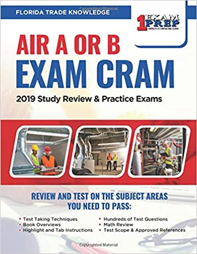 Florida Air A or B Exam Cram: 2019 Study Review & Practice