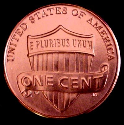 Red Bu Lincoln Cent Roll - 2011-D Lincoln Shield Cent BU