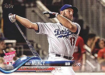 new arrivals 8ab74 4a1e5 Amazon.com: 2018 MLB Topps Update US255 Max Muncy Los ...