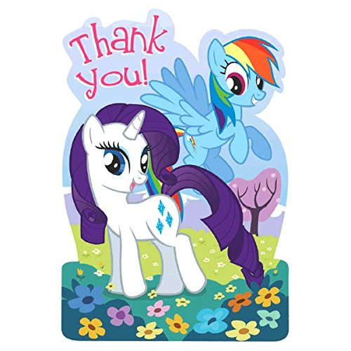 (Postcard Thank Yous | My Little Pony Friendship Collection | Party)