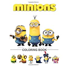 Minions Coloring Book: Great Activity Book for Kids