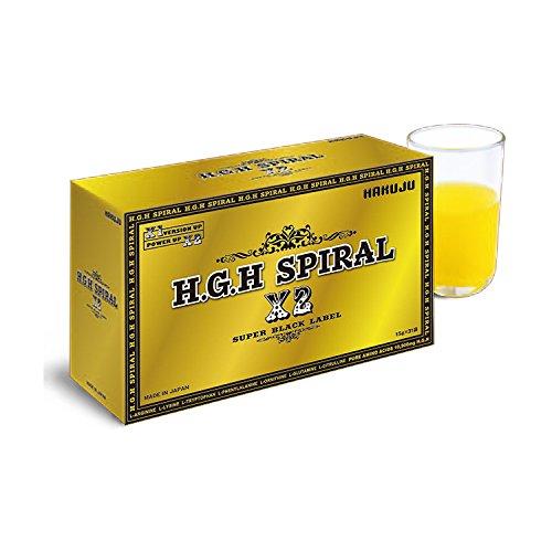 H.G.H SPIRAL X2 ~SUPER BLACK LABEL~ 15g×31袋入 B07D9DHXF3
