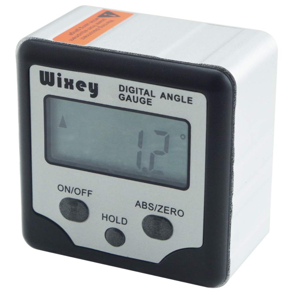 Wixey Digital Angle Gauge with Hold and ABS functions
