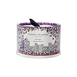 Woods Of Windsor Lavender Body Dusting Powder With Puff for Women, 3.5 Ounce