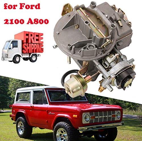 PARTS-DIYER Car Carburetor 2100 A800 Fit for Ford F100 F250 F350 Mustang Comet 289 302 351 Cu Jeep Wagoneer 360 Cu 2 Barrel