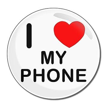 amazon co jp i love my phone ラウンドコンパクトハンドバッグ