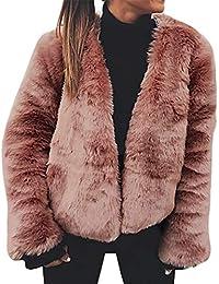 Limsea 2018 Women Winter Warm 3 Colors Available Faux Fur Cardigan Long Sleeve Outerwear Tops Coat