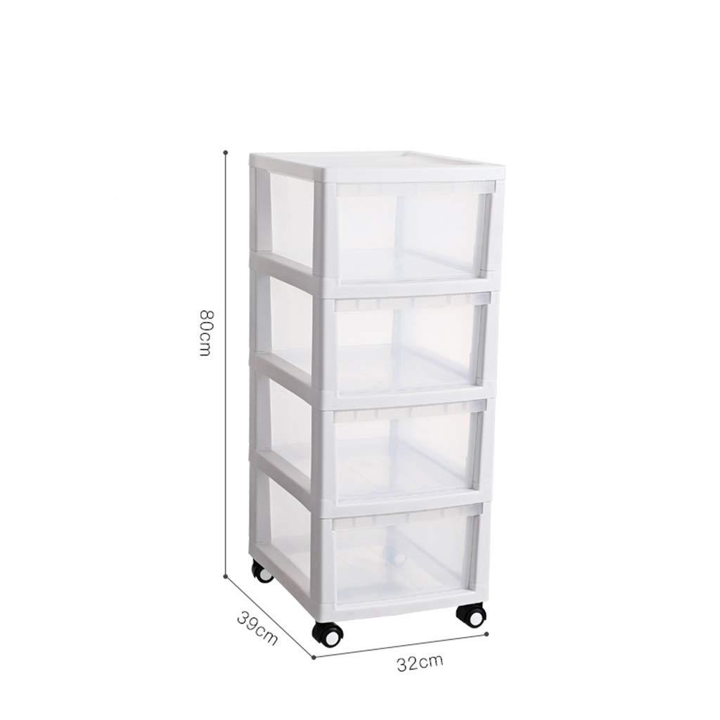 多機能収納ボックス、プラスチックキャビネット引き出し収納ボックス大型服玩具収納ボックス3サイズ2色 (Color : Gray, Size : 39*32*80CM) B07T35SFXK Gray 39*32*80CM