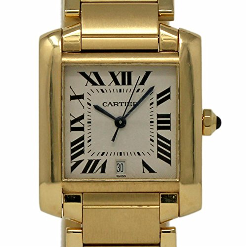 Cartier Tank Francaise Swiss-Automatic Male Watch W50001R2 (Certified Pre-Owned)