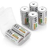 Best C Batteries - EBL C Size Rechargeable Batteries Ni-MH 5,000mAh C Review