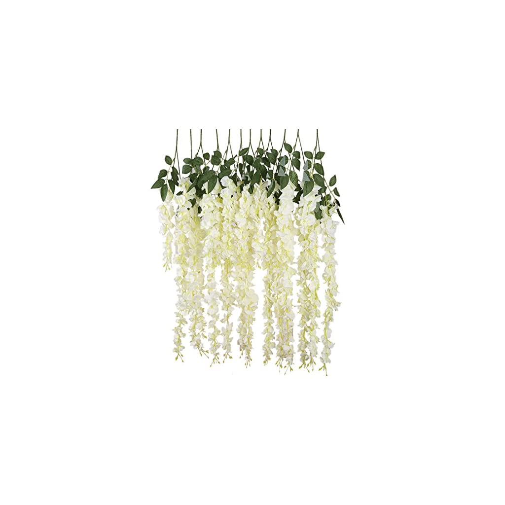 Luyue-318-Feet-Artificial-Silk-Wisteria-Vine-Ratta-Silk-Hanging-Flower-Wedding-Decor6-Pieces