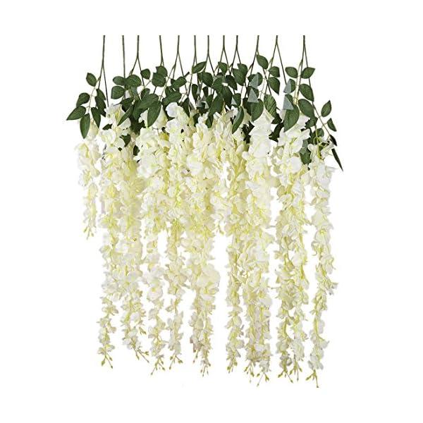 Luyue-318-Feet-Artificial-Silk-Wisteria-Vine-Ratta-Silk-Hanging-Flower-Wedding-Decor6-Pieces