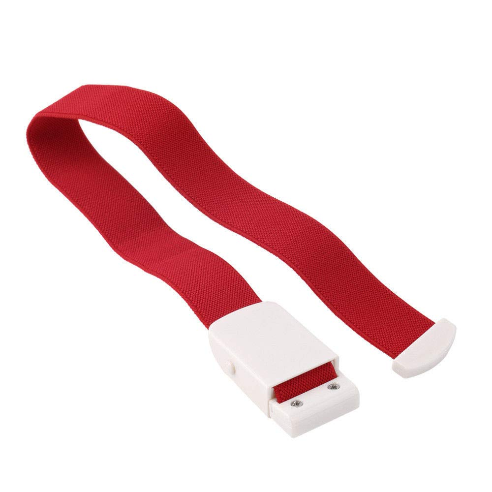 Gotian Flexible Emergency Tourniquet Buckle Quick Slow Release Medical Paramedic Outdoor (Red)