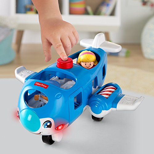 51v38TFkxbL - Fisher-Price Little People Travel Together Airplane Vehicle